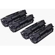 Pack 2 Toneres Impresora HP LASERJET 1010 compatible
