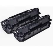 Pack 2 Toneres Impresora HP LASERJET P1009 compatible