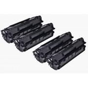 Pack 2 Toneres Impresora HP LASERJET 3015 compatible