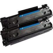 Pack 2 Toneres Impresora HP LASERJET PRO M1136 MFP compatible