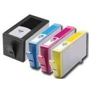 Pack 4 Cartuchos Impresora HP OFFICEJET 6000 Compatible