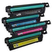 Pack 4 Toner HP CE250X Compatible