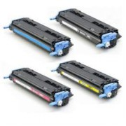 Pack 4 HP Q6000A Toner Compatible