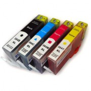 Pack 4 Cartuchos Impresora HP PHOTOSMART C5300 SERIES  Compatible