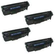 Pack 4 Toner HP Q2612A Compatible