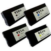 Pack 4 HP 950XL 951XL Cartuchos HP Compatible
