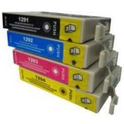 Pack de 8 Cartuchos de Tinta Epson T1291 T1292 T1293 T1294