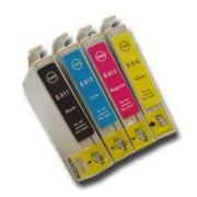 Pack de 8 Cartuchos de Tinta Epson T0611 T0612 T0613 T0614