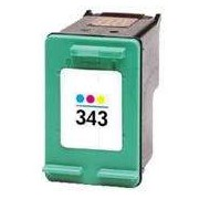 Cartucho HP 343 Color Tinta Compatible HP343