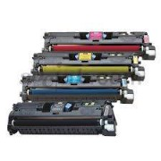 Pack 4 Q3960A Toner HP Compatible