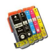 XP-605 Pack 5 Cartuchos Impresora Epson Expression Premium XP 605 26XL  Compatible
