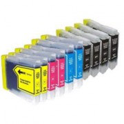DCP-845CW     Pack 100 Cartuchos Impresora Brother DCP-845CW Compatible