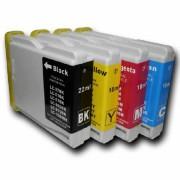 DCP-845CW    Pack 4 Cartuchos Impresora Brother DCP-845CW Compatible