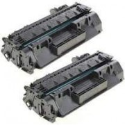 Pack 2 CF280A Toner HP Compatible
