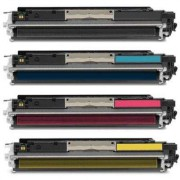 100MFP 175A Pack 4 Toneres Impresora HP COLORLASERJET PRO 100 MFP M175A compatible