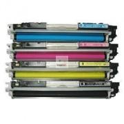 CP1025 Pack 4 Toneres Impresora HP COLORLASERJET PRO CP1025 compatible