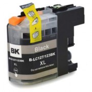 Cartucho Brother LC127 BK TInta Compatible LC 127 Negro