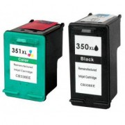 Pack 2 HP 350XL/ HP 351XL Cartuchos compatibles