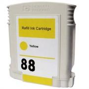 Cartucho HP 88 XL Y Tinta Compatible HP88