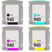 Pack 4 Cartuchos Impresora HP OFFICEJET PRO 8000 Compatible
