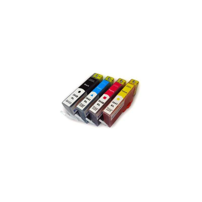 Pack 5 Cartuchos Impresora Hp Photosmart 7510 E All In One